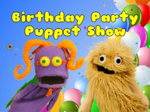 Wump Mucket Puppets Birthday Party Puppet Show photo