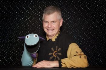 Puppeteer Terrence Burke Wump Mucket Puppets