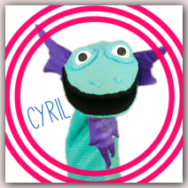 Meet Wump Mucket Puppets Cyril