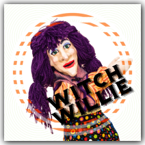 Kooky Spooky Halloween Show Wump Mucket Puppets Witch Willie