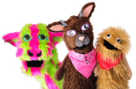 Shows Wump Mucket Puppets