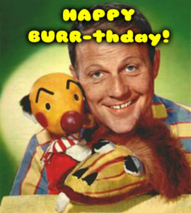 Happy BURR-thday Wump Mucket Puppets