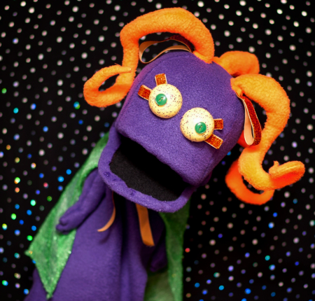 GWizzl Wump Mucket Puppets