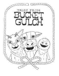 Wump Mucket Puppets Tales from Bucket Gulch page photo