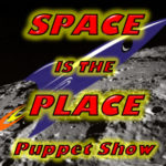 Wump Mucket Puppets Space is the Place logo