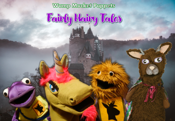 Wump Mucket Puppets Fairly Hairy Tales